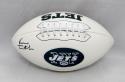 Vinny Testaverde Autographed New York Jets Logo Football- JSA W Authenticated