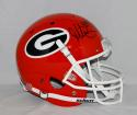 Todd Gurley Autographed Georgia Bulldogs Full Size Red Helmet- JSA W Authenticated