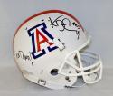 Ka'Deem Carey Autographed Arizona Wildcats F/S White Helmet W/ Bear Down- JSA W Auth