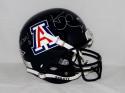 Ka'Deem Carey Autographed Arizona Wildcats F/S Blue Helmet W/ Bear Down- JSA W Auth