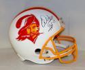 Warren Sapp Autographed Tampa Bay Buccaneers White F/S Helmet W/ HOF- JSA W Auth