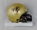 Joe Bellino Autographed Navy Midshipmen Mini Helmet W/ HT- JSA Witnessed Auth