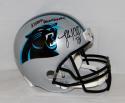 Luke Kuechly Autographed F/S Panthers Helmet W/ Keep Pounding- JSA W Auth