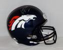 Peyton Manning Autographed Denver Broncos F/S Helmet- JSA Witnessed Auth