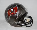 Warren Sapp Autographed Tampa Bay Buccaneers Silver F/S Helmet W/ Stats- JSA W Auth