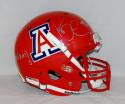 Ka'Deem Carey Autographed Arizona Wildcats F/S Red Helmet W/ Bear Down- JSA W Auth