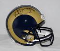 Todd Gurley Autographed Los Angeles Rams Full Size Helmet- JSA Witnessed Auth