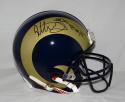 Todd Gurley Autographed Los Angeles Rams F/S ProLine Helmet W/ ROY- JSA W Auth