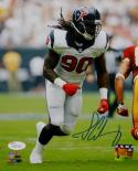 Jadeveon Clowney Autographed 8x10 Vertical Against Redskins Photo- JSA W Auth