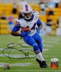 Sammy Watkins Autographed Bills 8x10 Vertical Holding Ball Photo- JSA W Auth