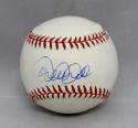 Derek Jeter Autographed In Blue Rawlings OML Baseball- JSA Authenticated