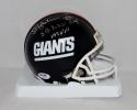 Ottis Anderson Autographed New York Giants TB Mini Helmet W/ SB MVP- PSA/DNA Auth