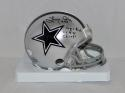 Larry Cole Autographed Dallas Cowboys Mini Helmet W/ SB Champs- JSA Witnessed Auth