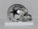 Michael Downs Autographed Dallas Cowboys Mini Helmet W/ All-Pro- JSA W Auth