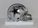 Dixon Edwards Autographed Dallas Cowboys Mini Helmet W/ SB- JSA Witnessed Auth
