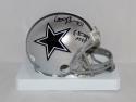 Larry Brown Autographed Dallas Cowboys Mini Helmet W/ SB MVP- JSA W Auth