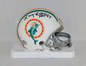Larry Little Autographed Miami Dolphins Mini Helmet W/ HOF- JSA Witnessed Auth