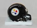 Heath Miller Autographed Pittsburgh Steelers Mini Helmet- JSA Witnessed Auth
