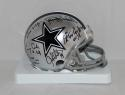 Doomsday Defense Autographed Dallas Cowboys Mini Helmet W/ 6 Sigs- JSA W Auth