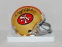 Dwight Clark Autographed San Francisco 49ers Mini Helmet- TriStar Authenticated