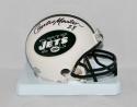 Curtis Martin Autographed New York Jets Mini Helmet- JSA Witnessed Auth