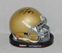 Stephon Tuitt Autographed Notre Dame Fighting Irish Mini Helmet- JSA W Auth