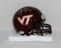 Tyrod Taylor Autographed Virginia Tech Hokies Mini Helmet- PSA/DNA Authenticated