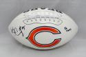 Ka'Deem Carey Autographed Chicago Bears Logo Football W/ Da Bears!- JSA W Auth