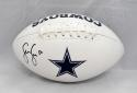 Sean Lee Autographed Dallas Cowboys Logo Football- JSA Witnessed Authenticated