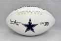 Larry Brown Autographed Dallas Cowboys Logo Football W/ SB MVP- JSA W Auth