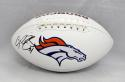 Champ Bailey Autographed Denver Broncos Logo Football- JSA Witnessed Auth
