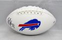 Tyrod Taylor Autographed Buffalo Bills Logo Football- PSA/DNA Authenticated