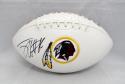 Jordan Reed Autographed Washington Redskins Logo Football- JSA Witnessed Auth
