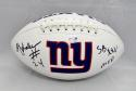 Ottis Anderson Autographed New York Giants Logo Football W/ SB MVP- PSA/DNA Auth