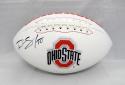 Ryan Shazier Autographed Ohio State Buckeyes Logo Football- JSA Witnessed Auth