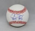 Curt Schilling Autographed Rawlings OML Baseball W/ Boston Strong- JSA W Auth