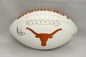 Vince Young Autographed Texas Longhorns Logo Football- TriStar Authenticated