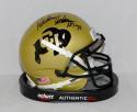 Rashaan Salaam Autographed Colorado Buffaloes Mini Helmet W/ HT- JSA W Auth