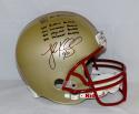 Luke Kuechly Autographed Boston College F/S Helmet W/ Award Stats- JSA W Auth