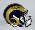 Todd Gurley Autographed Los Angeles Rams F/S Speed Helmet- PSA/DNA Authenticated