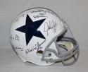 Doomsday Defense Autographed Dallas Cowboys F/S TB Helmet W/ 6 Sigs- JSA W Auth