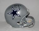 Sean Lee Autographed Dallas Cowboys Full Size Helmet- JSA Witnessed Auth