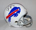 Tyrod Taylor Autographed Buffalo Bills Full Size White Helmet- PSA/DNA Auth