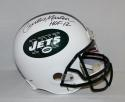 Curtis Martin Autographed New York Jets Full Size Helmet With HOF- PSA/DNA Auth
