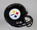 Heath Miller Autographed Pittsburgh Steelers F/S Helmet- JSA Witnessed Auth
