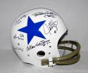 Doomsday Defense Signed Dallas Cowboys F/S White TK Helmet W/ 6 Sigs- JSA W Auth