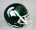 LeVeon Bell Autographed Michigan State Spartans F/S Helmet- JSA Witnessed Auth