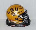 Billy Cannon Signed LSU Tigers Schutt Gold Mini Helmet W/ Heisman- JSA W Auth