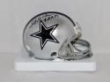 Lee Roy Jordan Autographed Dallas Cowboys Mini Helmet W/ R.O.H.- JSA W Auth