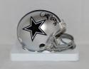 Cliff Harris Autographed Dallas Cowboys Mini Helmet- JSA Witnessed Auth